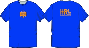 HRL mens blue shirt