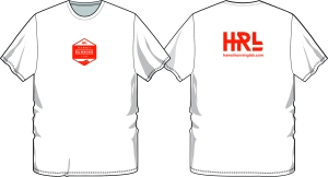 HRL mens white shirt